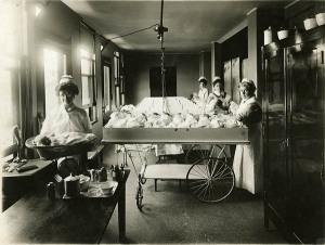 Nurses in the Maternity Ward
