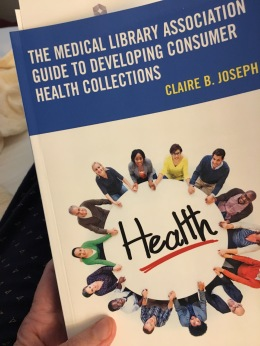 Book entitled The Medical Library Association Guide to Developing Consumer Health Collections
